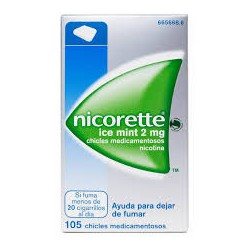 NICORETTE ICE MINT 2 MG 30 CHICLES CN665667.9