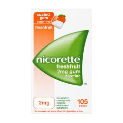 NICORETTE FRESHFRUIT 2 MG 30 CHICLES CN654598.0
