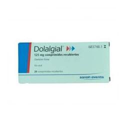 DOLALGIAL 125 MG 20 COMPRIMIDOS CN683748.1