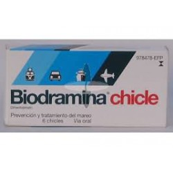 Biodramina (20 mg 6 chicles)