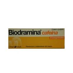Biodramina con cafeina 4 comprimidos