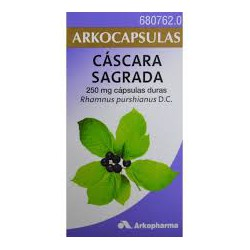 Arkocapsulas Cascara Sagrada 250 Mg 50 cap
