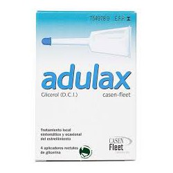 Adulax Casen Fleet (6.14 Ml Solucion Rectal 4 Enemas 7.5 Ml)