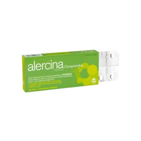 Alercina 10 mg comprimidos
