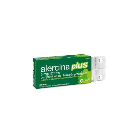 Alergina plus 5 mg/120 mg