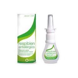 Respibien antialérgico solución para pulverización nasal CN664347.1