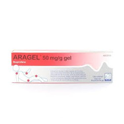 Aragel 50 mg/g gel