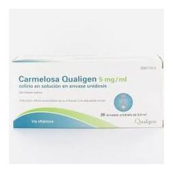 Caraelosa Qualigen 5 Mg/ml Colirio en Solucion en envases Unidosis