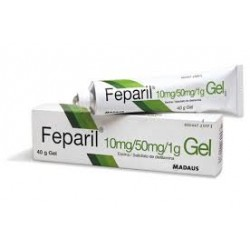 Feparil 10mg/g + 50mg/g Gel