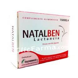 NATALBEN LACTANCIA 60 CAPSULAS CN150692.4