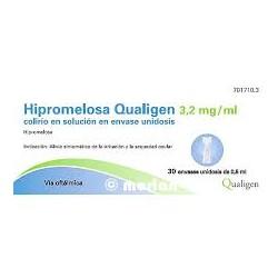 Hipromelosa Qualigen 3,2 MG/ML Colirio en Solucion en envase unidosis