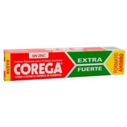 Corega extra fuerte crema adhesiva de protesis dental 70 ml