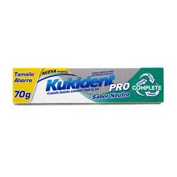 Kukident Pro Complete crema adhesiva sabor neutro 70gr