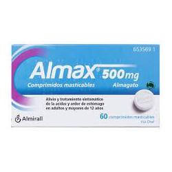 ALMAX 60 COMPRIMIDOS MASTICABLES CN653569.1