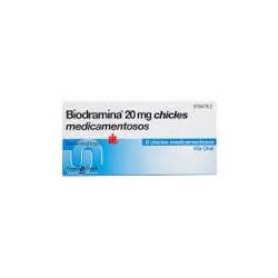 BIODRAMINA  20 mg 12 CHICLES CN978486.7