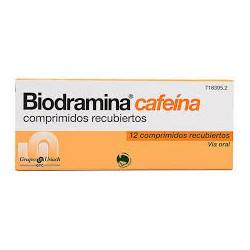 Biodramina C (Cafeína) 12 Comprimidos EFP
