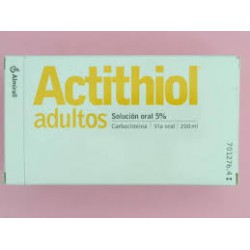 Actithiol Mucolítico Adultos Solución Oral 200 ml