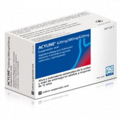 Acyline 20 Sobres Suspension Oral 10 Ml