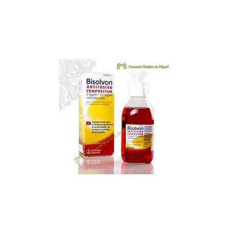 Bisolvon antitusivo compositum( 3/1,5 MG/MLsolucion oral 200 ml)
