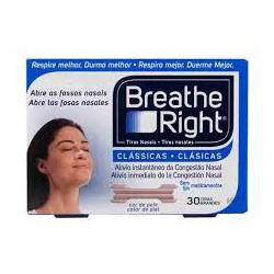 BREATHE RIGHTTiras Nasales Clásicas grandes (30 TIRAS) CN 300319