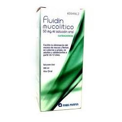 Fluidin Mucolitico 50 MG/ML Solucion Oral