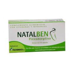 NATALBEN PRECONCEPTIVO 30 CAPSULAS CN163264.7