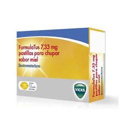 Formulatus 7,33 mg Pastillas para chupar saborMiel