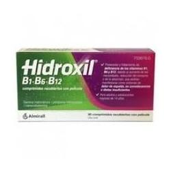 Hidroxil B1-B6-B12 30  Comprimidos Recubiertos Con Pelicula